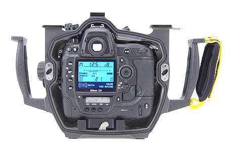 Nikon D3 Underwater - Subal Housing Back
