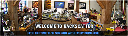 Backscatter is the best underwater camera store.  Meet our staff!