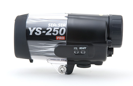 Sea & Sea YS-250 Underwater Strobe - side view