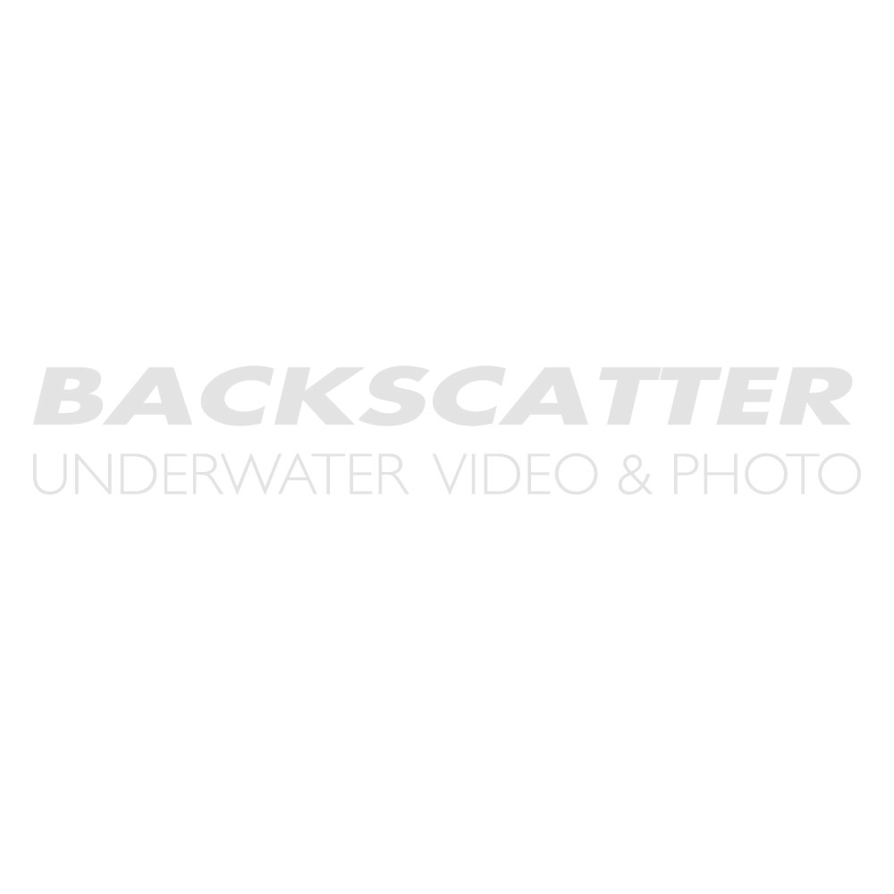 Backscatter Custom Adapter for Inon Viewfinder on a Sea & Sea Underwater Housing